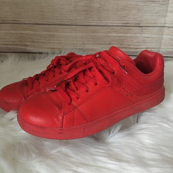 U.S. Polo Assn. Shoes   Red Polo   Poshmark